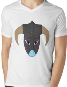 rainbow dash/ dovahkiin Mens V-Neck T-Shirt