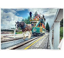 Victor Harbor Horse Drawn Tram Poster