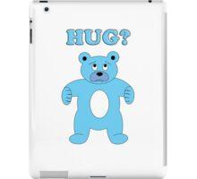Sad Blue Bear - Hug? iPad Case/Skin