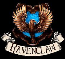 Ravenclaw Crest by Serdd