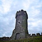 Turret, Soldier's Point Hotel, Holyhead, Wales by Lisa Hafey