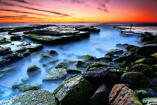Sunrise Fishing  by Arfan Habib