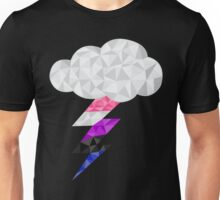 Gender Fluid Storm Cloud Unisex T-Shirt