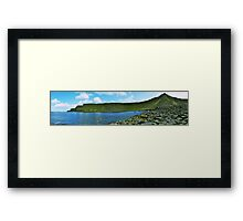 Panorama, Giant's Causeway, Northern Ireland Framed Print