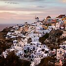 Oia at Sunset by Robyn Carter