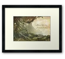 Once Upon a Whistling Tree Framed Print