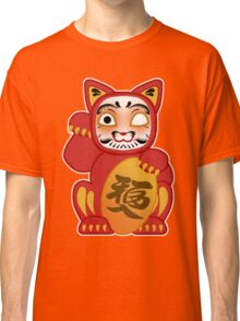 Lucky Daruma Doll Cat Classic T-Shirt