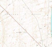 USGS Topo Map Washington State WA Wooden Island 244781 1978 24000 Sticker