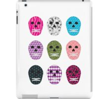 Sugar Pattern Skulls iPad Case/Skin