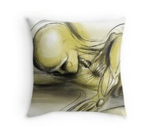 A Moment Before Ascension Throw Pillow