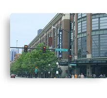 Safeco Field on Game Day Canvas Print