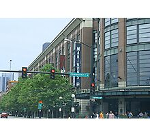 Safeco Field on Game Day Photographic Print