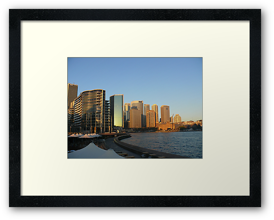Sunrise at Circular Quay by Sharon Brown