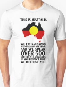 This Is Australia | We Welcome You T-Shirt