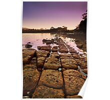 Sunrise at Eggs and Bacon Bay, Tasmania Poster