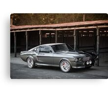 'Eleanor'-inspired Mustang Fastback Canvas Print