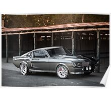 'Eleanor'-inspired Mustang Fastback Poster