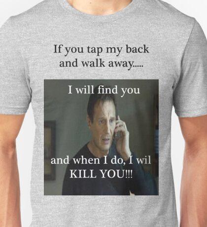 Tap my back Unisex T-Shirt