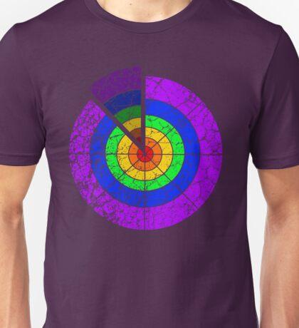 Rainbow Target Unisex T-Shirt