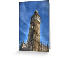 Big Ben in the summer Greeting Card