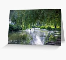 River Stour at Higham Greeting Card