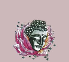 Decap Lotus Buddha  by Ashley Peppenger