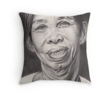 Happy in HoiAn Throw Pillow