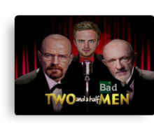 Two and a Half Bad Men Canvas Print