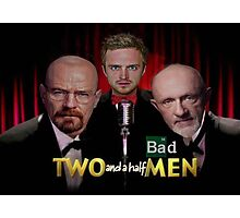Two and a Half Bad Men Photographic Print