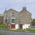 Reeth Post Office, Swaledale by Brian Hargreaves