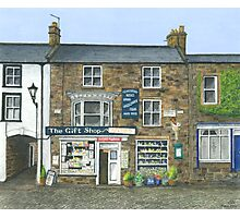 Reeth Gift Shop, Swaledale Photographic Print