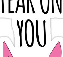 Bob's Burgers - Louise - I Smell Fear on You! Sticker