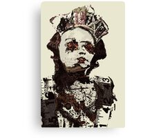 Armoured witch Canvas Print