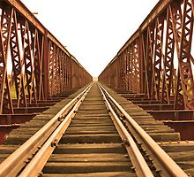 Old Ghan Railway by JessicaHayley