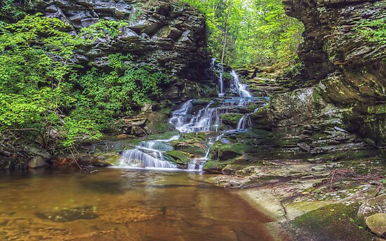 Atticus Falls August 2012 by Aaron Campbell