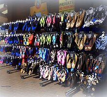 Shoes for the beach by Charmiene Maxwell-Batten