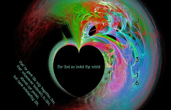 For God So Loved the World by aprilann