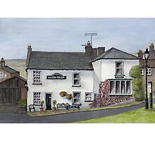 Reeth Ice Cream Parlour, Swaledale Photographic Print