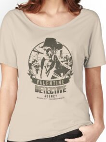 Valentine Detective Agency - Green Women's Relaxed Fit T-Shirt