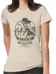 Valentine Detective Agency - Green Womens Fitted T-Shirt