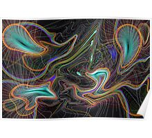 Abstract Pattern art Poster