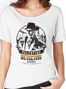 Valentine Detective Agency - Black Women's Relaxed Fit T-Shirt
