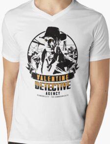 Valentine Detective Agency - Black Mens V-Neck T-Shirt