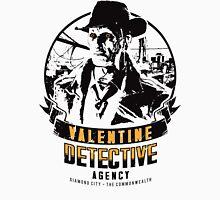 Valentine Detective Agency - Black Unisex T-Shirt