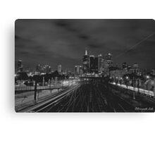 Railways to Melbourne Canvas Print