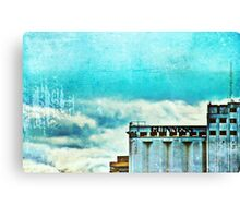 Turquoise Dublin Skies Canvas Print