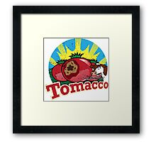 TOMACCO SIMPSONS Framed Print