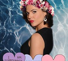 Lana Parrilla - Flower Goddess by kiahjasminxox
