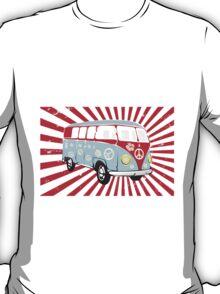 VW T1 van retro illustration T-Shirt