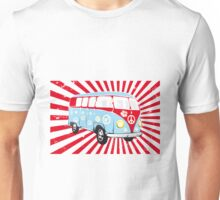 VW T1 van retro illustration Unisex T-Shirt